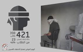 في ذكرىّ اليوم الدولي للاختفاء القصري.. الواقع مرير والألم عسير