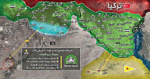 تركيا ماضية في «المنطقة الآمنة» : نصف مساحة لبنان و3 آلاف مقاتل