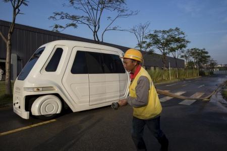 بريطانيا تختبر السيارات ذاتية القيادة في شوارعها