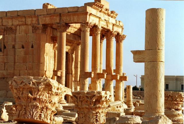 شيفرة تعيد معبد بعل إلى مدينة تدمر