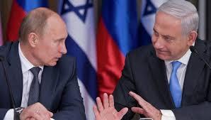 نتنياهو يبحث مع بوتين الأوضاع في سورية
