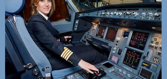رولا حطيط المرأة الوحيدة في لبنان التي تقود طائرة