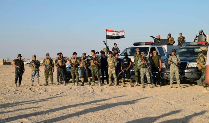 """""""الحشد"""" الشعبي يحرر الحضر من """"داعش"""""""