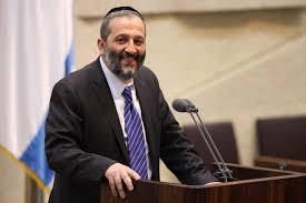 وزير الداخلية الإسرائيلي آرييه درعي [رئيس شاس