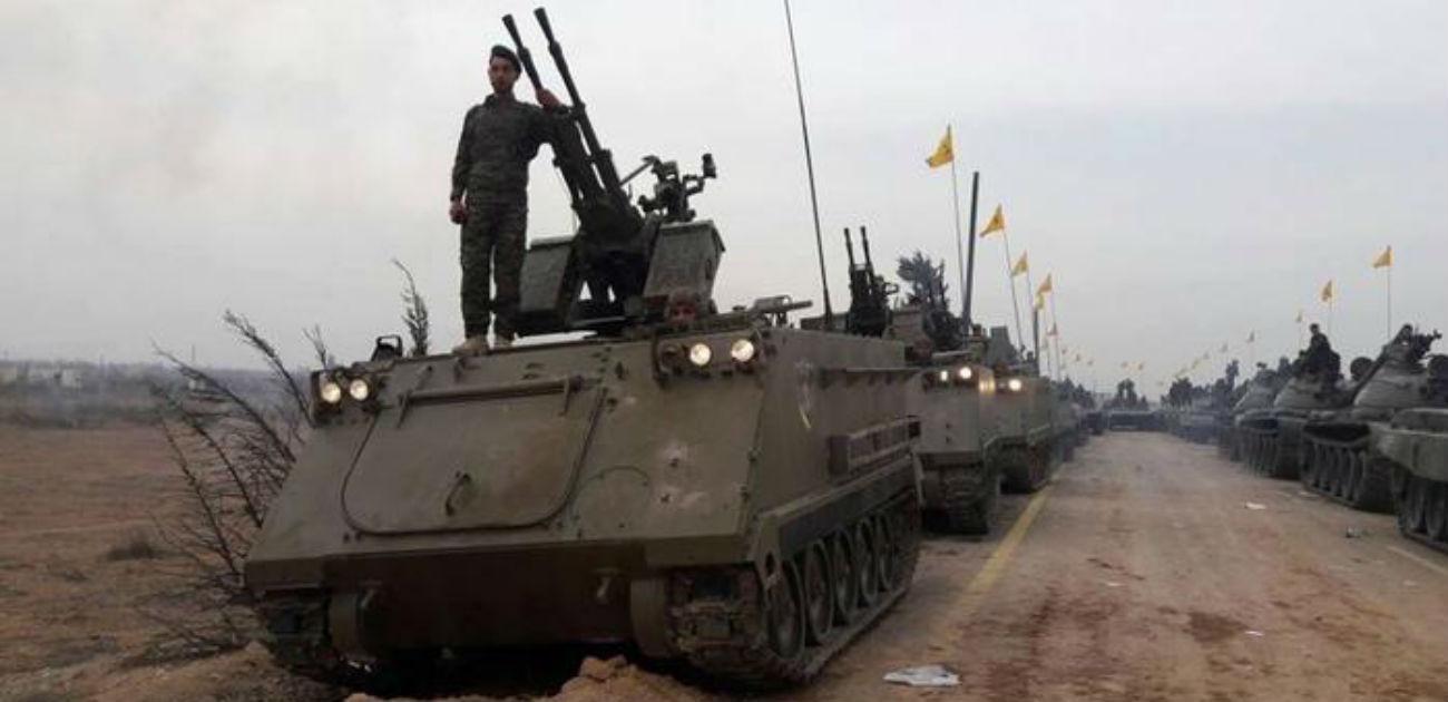 دلالات العرض العسكري لحزب الله في القصير بالنسبة لإسرائيل