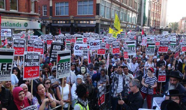 «حملة التضامن مع فلسطين» تقاضي الحكومة البريطانية
