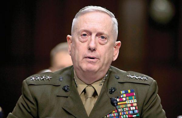 الجنرال المتقاعد جايمس ماتيس وزيراً للدفاع الأميركي