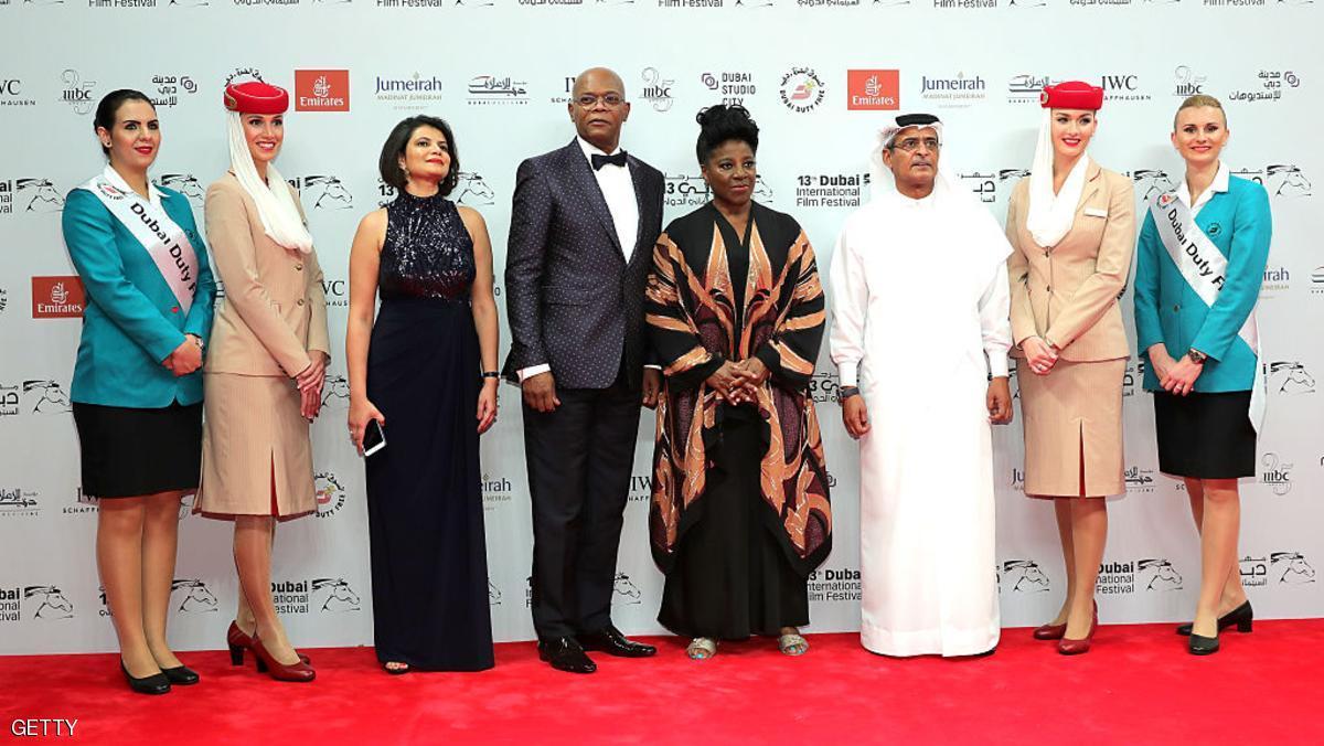 افتتاح الدورة 13 لمهرجان دبي السينمائي الدولي
