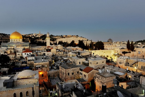 معاودة البناء في القدس: أولية قصوى