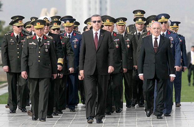 قلق من «خلية انقلابية» في الجيش التركي