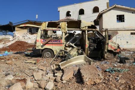 دراسة: الرعاية الصحية هدف للحرب في سوريا