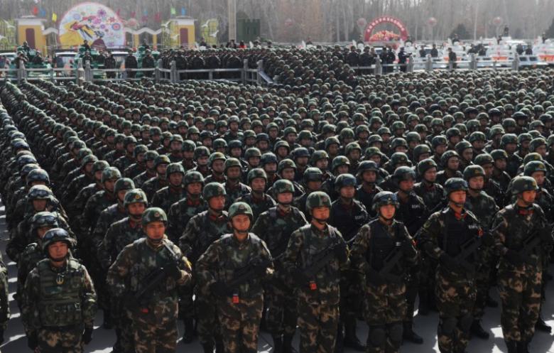 ما هي أكبر الجيوش بحسب عدد الجنود الفاعلين؟