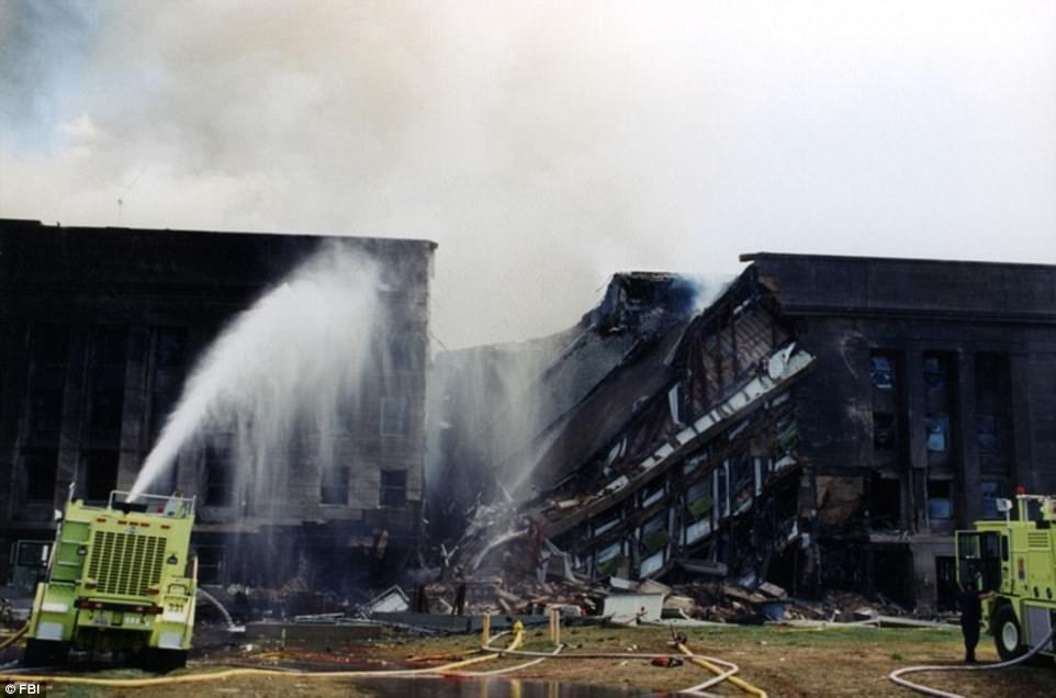 """""""أف بي آي"""" يفرج عن صور لحريق البنتاغون في اعتداءات 11 سبتمبر"""