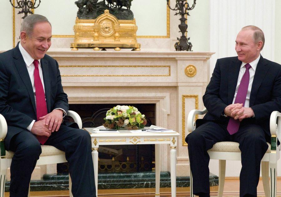 نتنياهو أكد لبوتين ضرورة تشجيع القوات الإيرانية على الخروج من سوريا