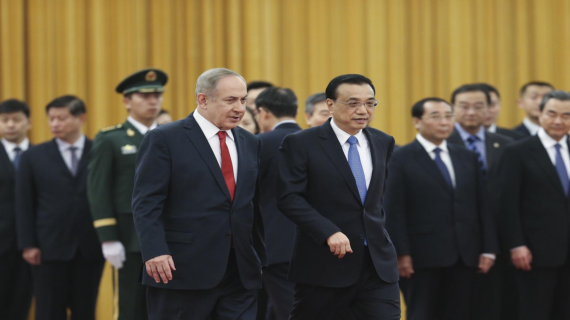 الاتفاق على تسريع إقامة منطقة تجارة حرة بين إسرائيل والصين