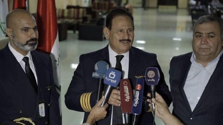 هل قاد وزير النقل العراقي الطائرة إلى البصرة؟