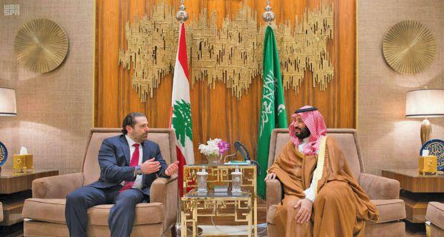 محمد بن سلمان يلتقي الحريري