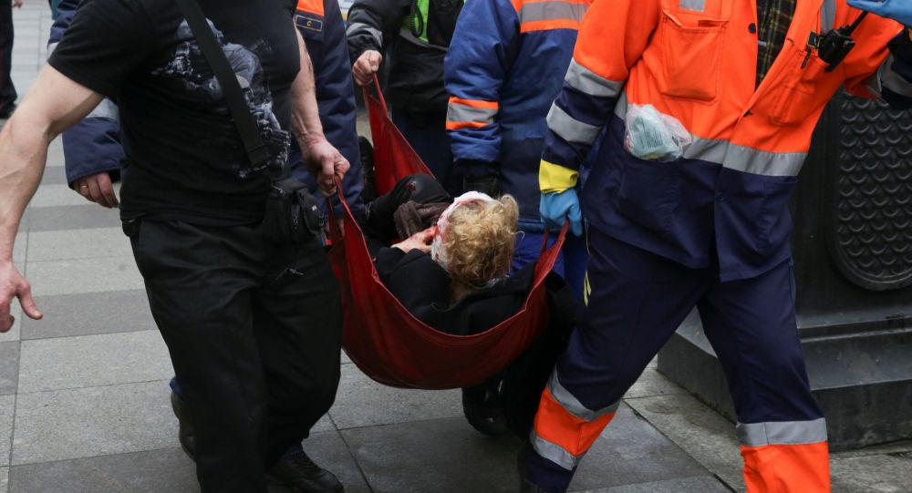 منفذ تفجير بطرسبورغ انتحاري ويتم جمع المعلومات حول هويته
