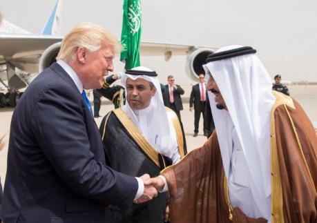 ترامب في الرياض