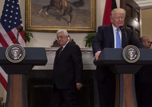 خطة ترامب للتسوية تقلق الفلسطينيين