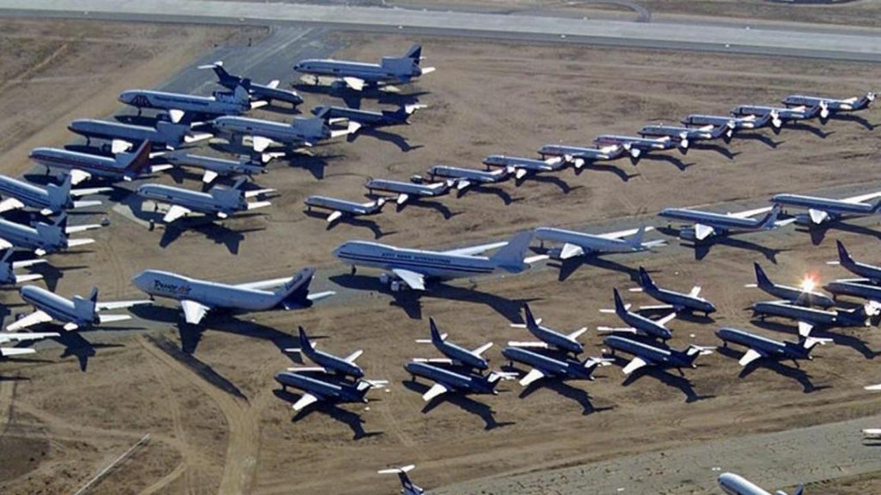 ما هو مصير الطائرات بعد انتهاء فترة صلاحيتها ؟