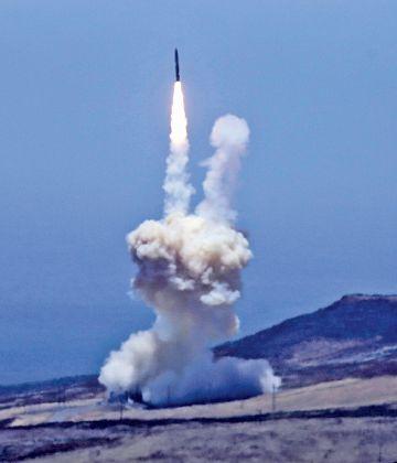 أميركا تختبر دفاعاً صاروخياً يحمي أراضيها من هجوم كوري شمالي
