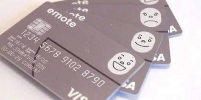 بطاقة بنكية تعبس في وجهك كلما أنفقت الكثير من النقود