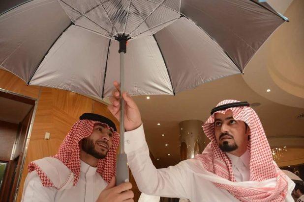 مظلة سعودية للتغلب على الحر الخمسيني