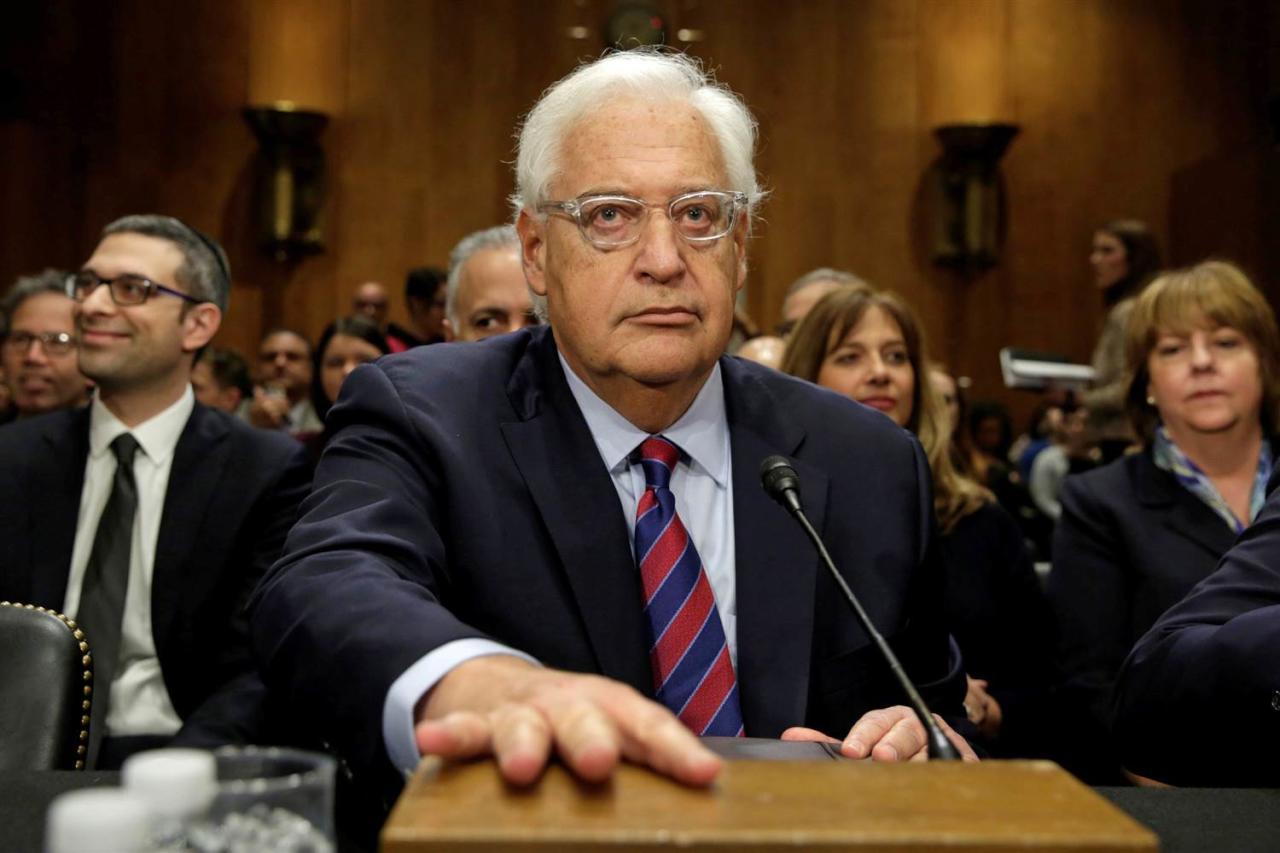 فريدمان يرد على وصف عباس له بإبن كلب: معادٍ السامية
