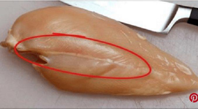 معلومة صحيّة مهمّة.. ماذا يعني الخط الأبيض في الدجاج؟