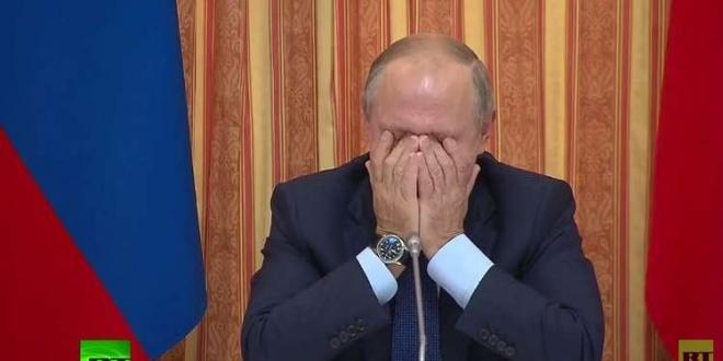 بالفيديو – وزير روسي يضحك بوتين والحكومة الروسية أثناء اجتماع
