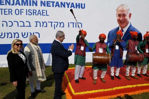 استقبال ملوكي لنتنياهو في الهند والإعلام الإسرائيلي يتجاهله