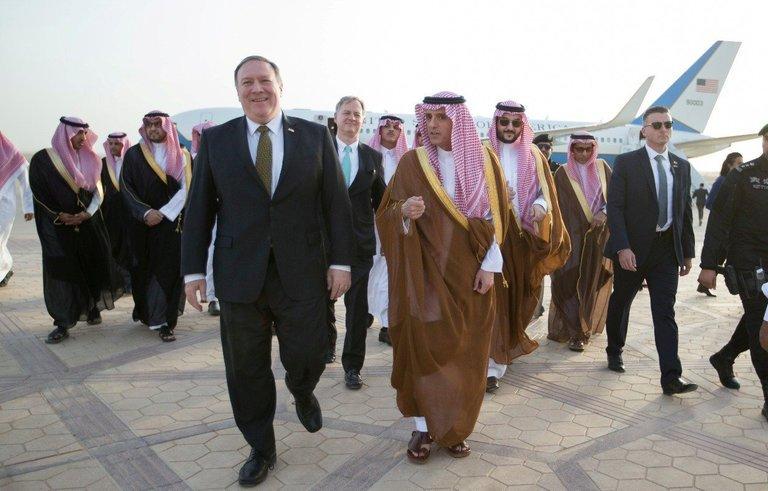 بومبيو للسعودية: توقفوا عن حصار قطر واليمن.. لقد طفح الكيل