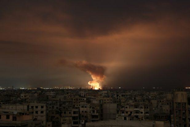 هجوم جوي إسرائيلي جديد على مطار T4 السوري
