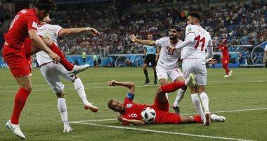 خسارة تونس أمام إنجلترا في مباراة المونديال