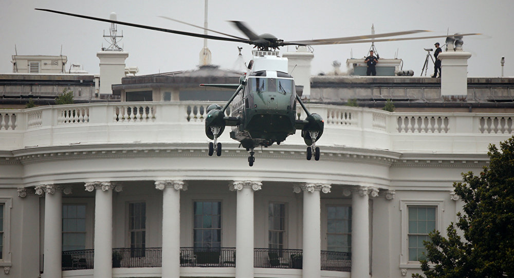 محاولة تسلل إلى البيت الأبيض