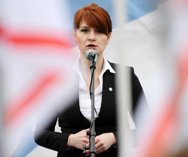 ماريا بوتينا وفضيحة روسيا