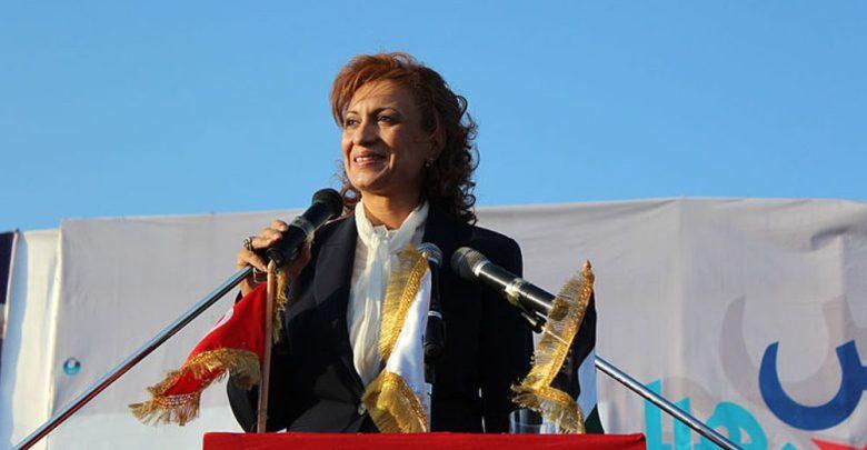 """مرشحة """"النهضة"""" سعاد عبد الرحيم أول رئيسة لبلدية تونس"""
