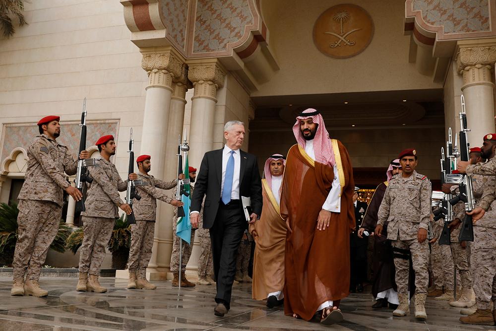 البنتاغون يحب السعودية في السراء والضراء