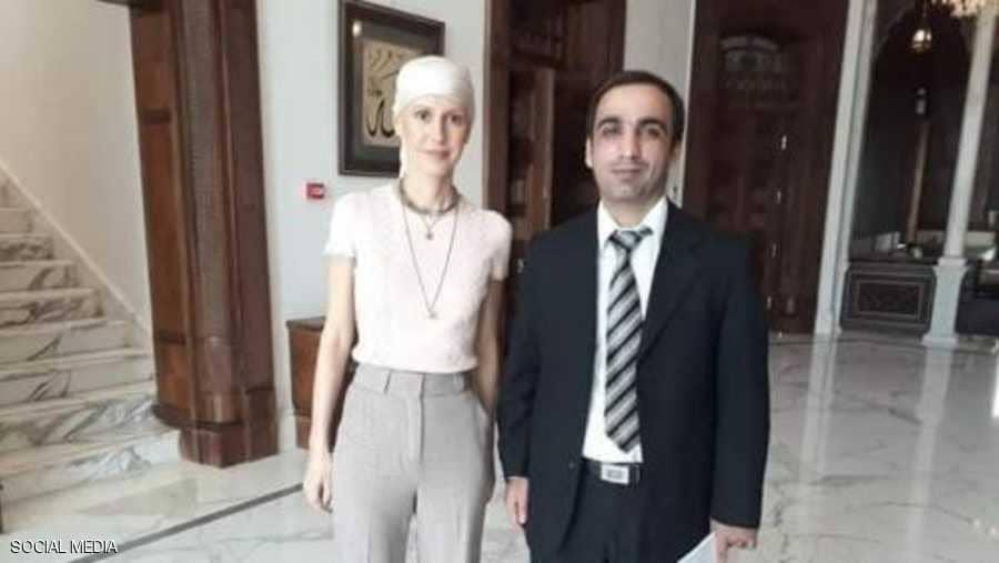 أسماء الأسد تظهر في صور بعد بدء العلاج