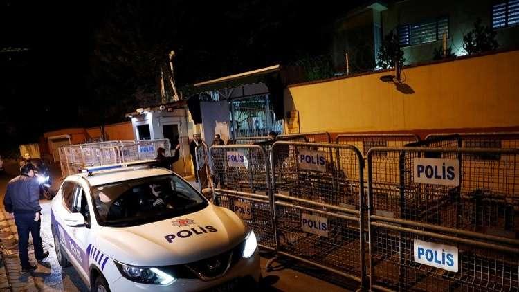 فريق التحقيق التركي سيفتش منزل القنصل السعودي