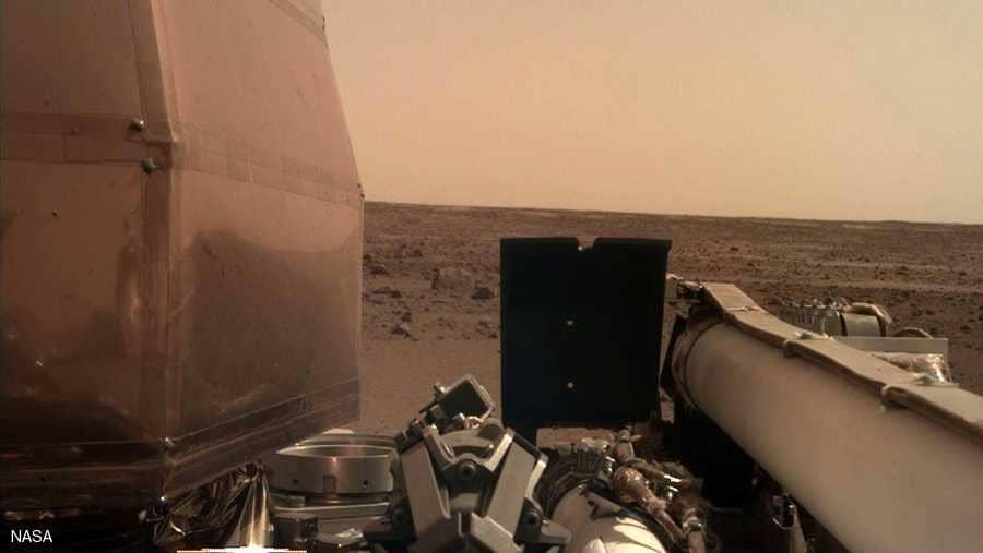 أول سيلفي من المريخ