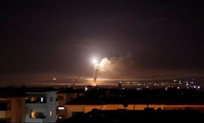 غارات جوية إسرائيلية ضد عدة مواقع جنوبي دمشق
