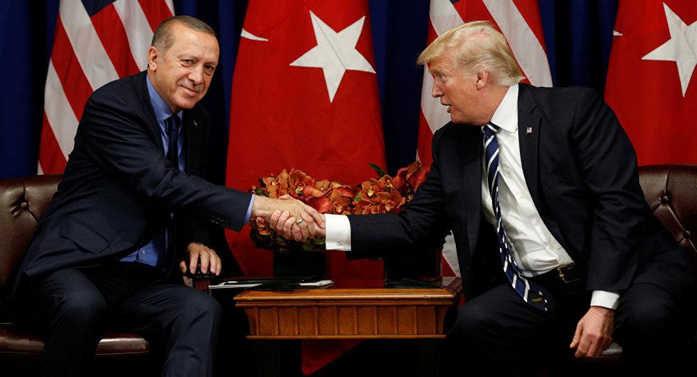 """أردوغان وترامب يبحثان هاتفيا """"المنطقة الآمنة"""" المزمعة في سوريا"""