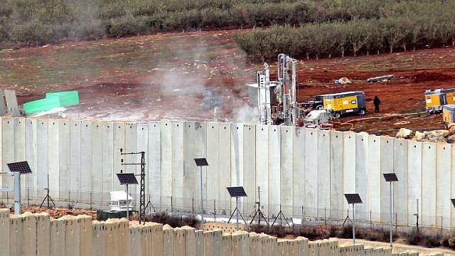 تفحّص الحدود الشمالية لإسرائيل
