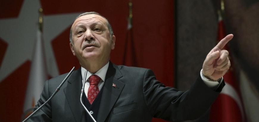 أردوغان يتهم الحكومة السورية بانتهاك هدنة إدلب