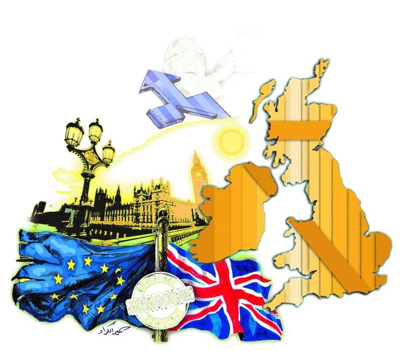 تأثيرات اتحاد أوروبي بلا بريطانيا