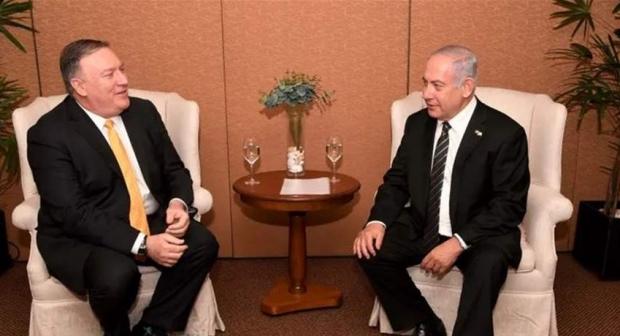 بومبيو ونتنياهو يتعهدان بمواصلة التعاون بشأن سوريا وإيران