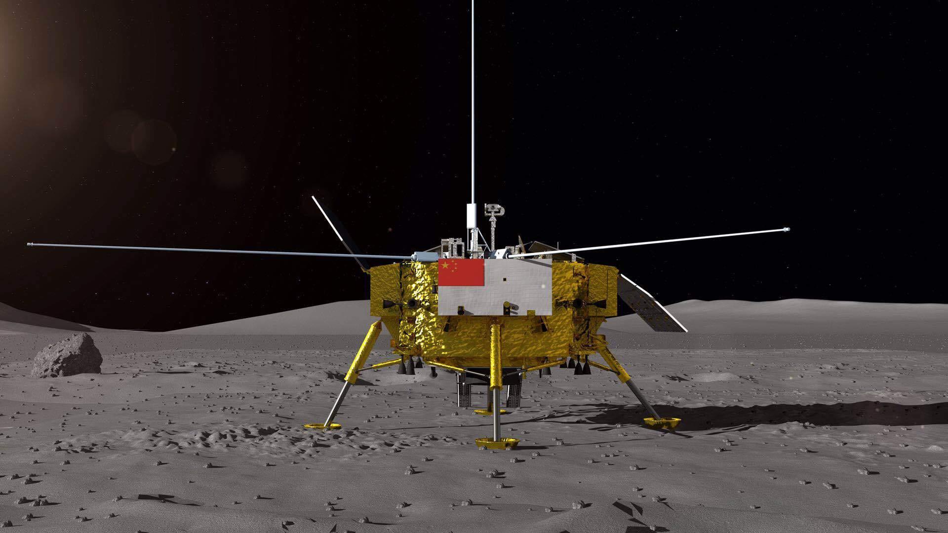 تفوق على ناسا.. مسبار صيني يهبط بالجانب المظلم من القمر