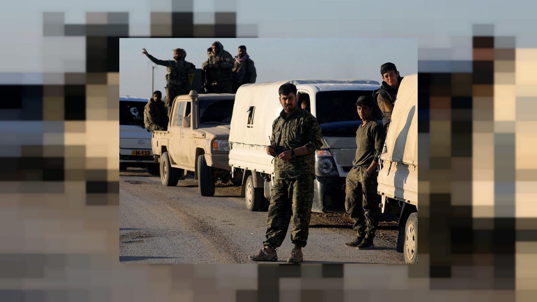 """""""قوات سوريا الديمقراطية"""" تقول إنها أسرت 157 من """"داعش"""" أغلبهم أجانب"""